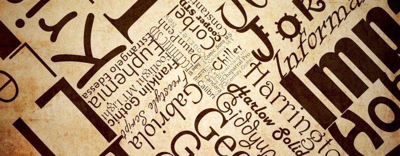 La scelta dei fonts per i siti web
