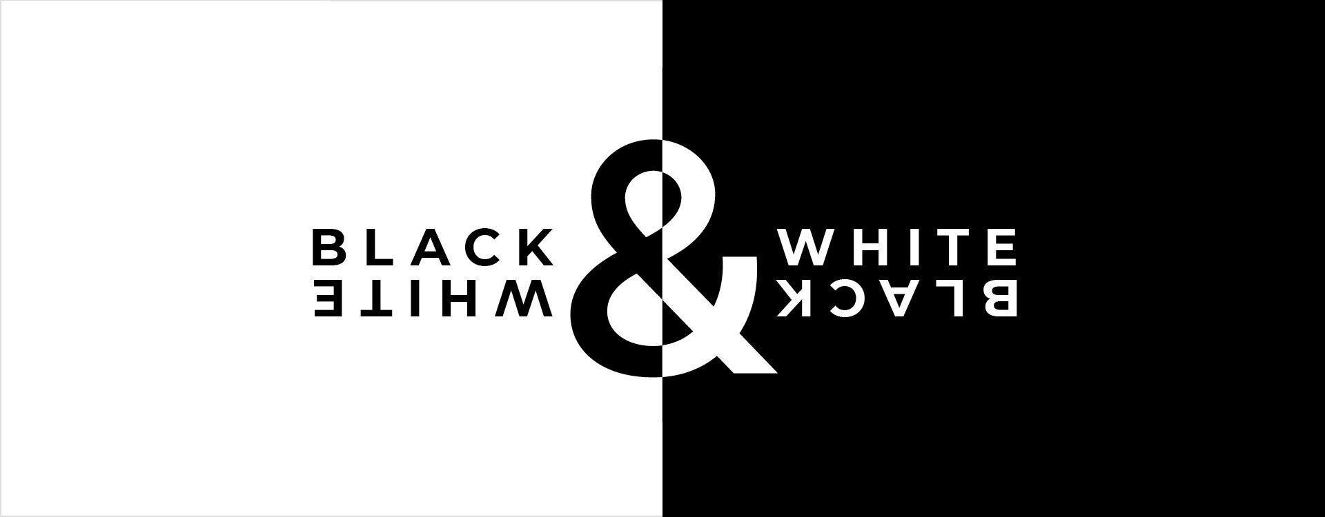 Web design in bianco e nero